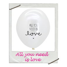 Ballonnen all you need is love